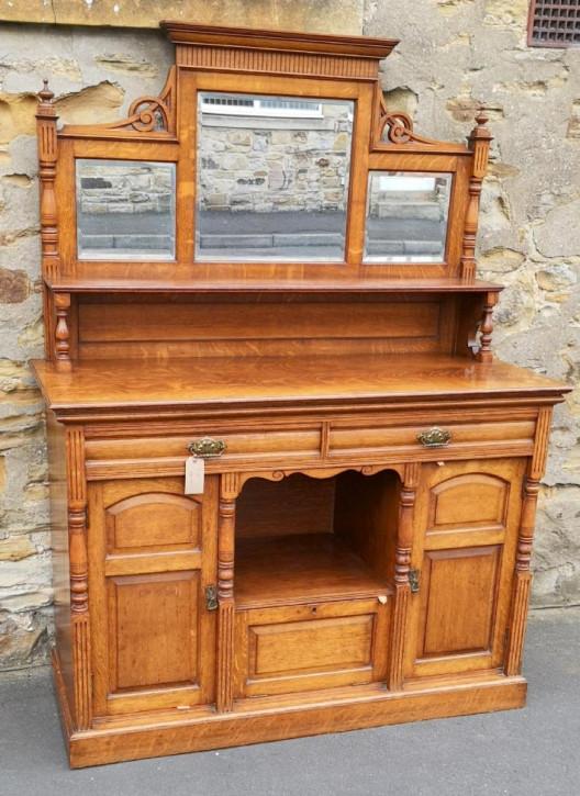 Edwardianisches Sideboard Eiche original antik ca 1890