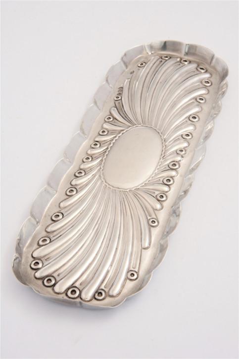 Viktorianischer Sterling Silber Stiftehalter Tablett antik 1894