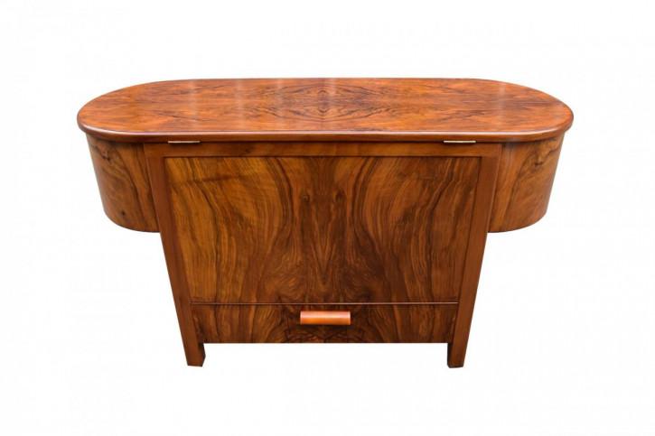 Art Deco Nussbaum Sideboard Cocktailbar antik englisch ca 1930