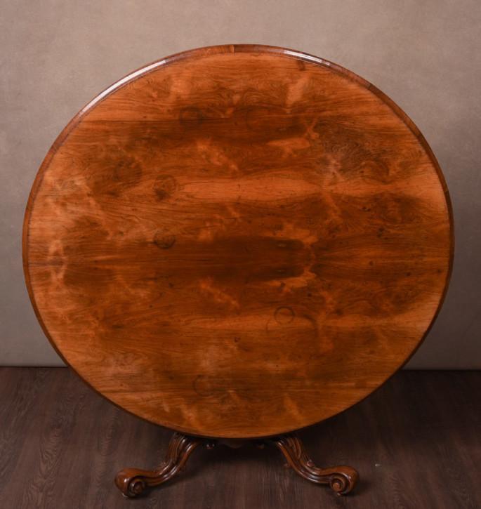 Viktorianischer Palisander Esstisch englisch antik ca 1860