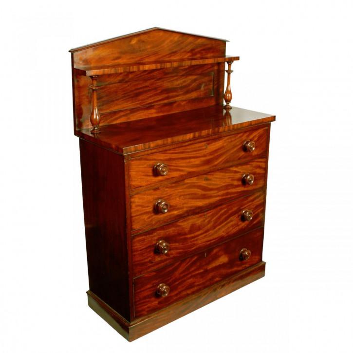 Viktorianische antike Mahagoni Kommode britisch ca 1860