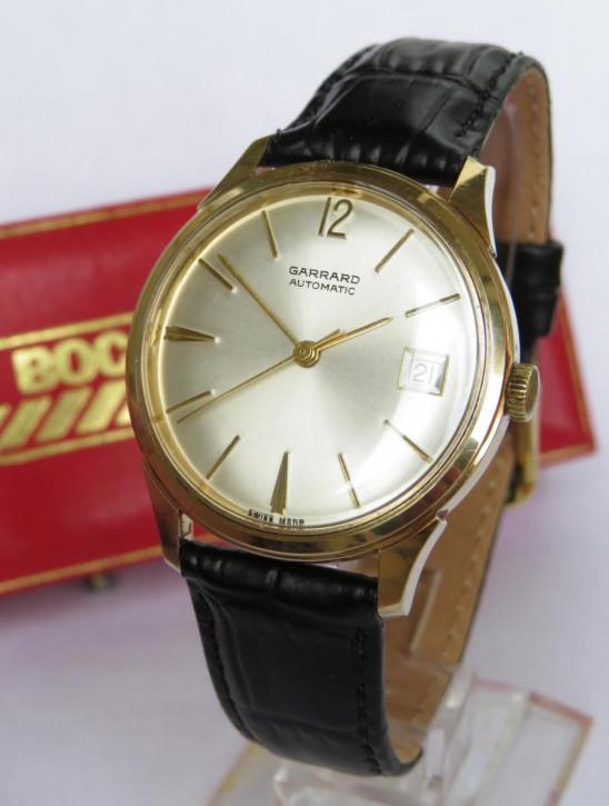 Antike goldene Armbanduhr 9 Karat britisch 1968