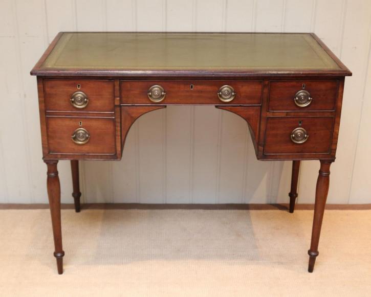 Antiker Mahagoni Schreibtisch original britisch ca 1820