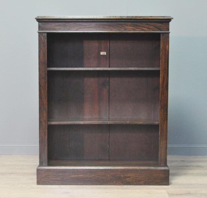 Antikes viktorianisches Eichen Bücherregal englisch ca 1880