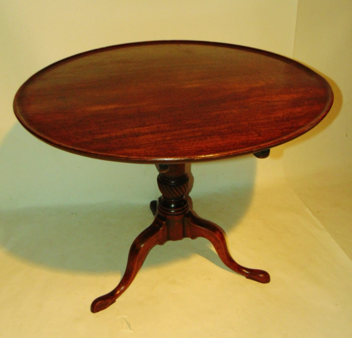 Georgianischer Mahagoni Tisch antik englisch ca 1770