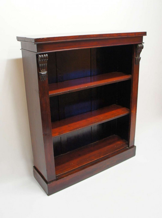 Viktorianisches antikes Mahagoni Bücherregal englisch ca 1850
