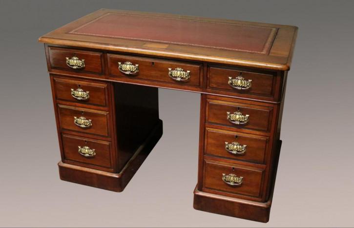 Antiker Mahagoni Schreibtisch englisch 19. Jh