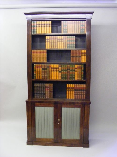 Antiker britischer Palisander Bücherschrank 19. Jh