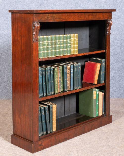 Antikes viktorianisches Palisander Bücherregal englisch ca 1870