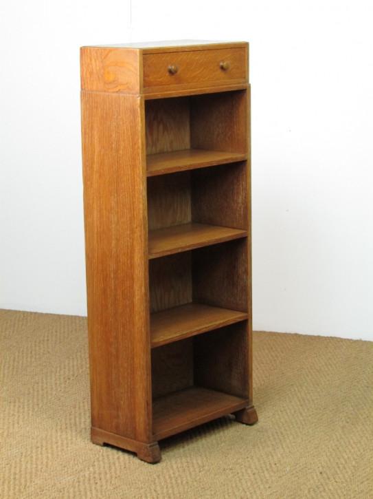 Antikes englisches Bücherregal Eiche ca 1930