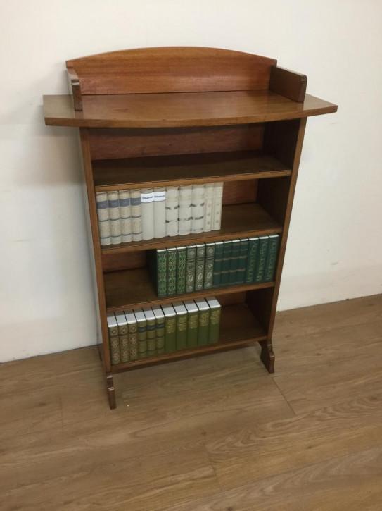 Arts & Crafts Bücherregal Nussbaum antik englisch ca 1910