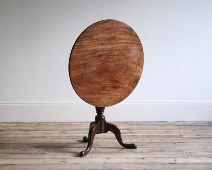 Georgianischer antiker Mahagoni Tisch englisch 17. Jh