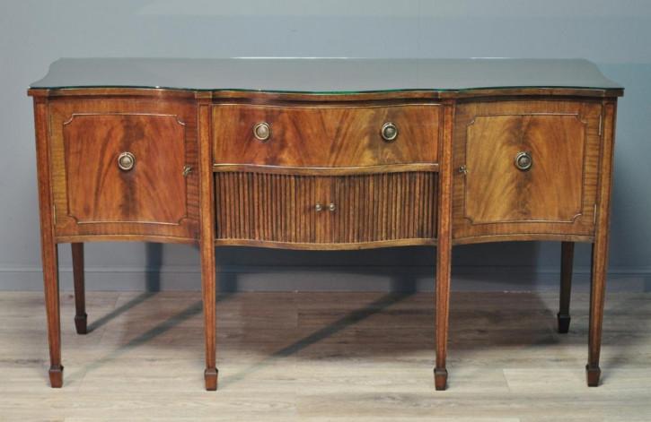 Antikes original britisches Mahagoni Sideboard ca 1920
