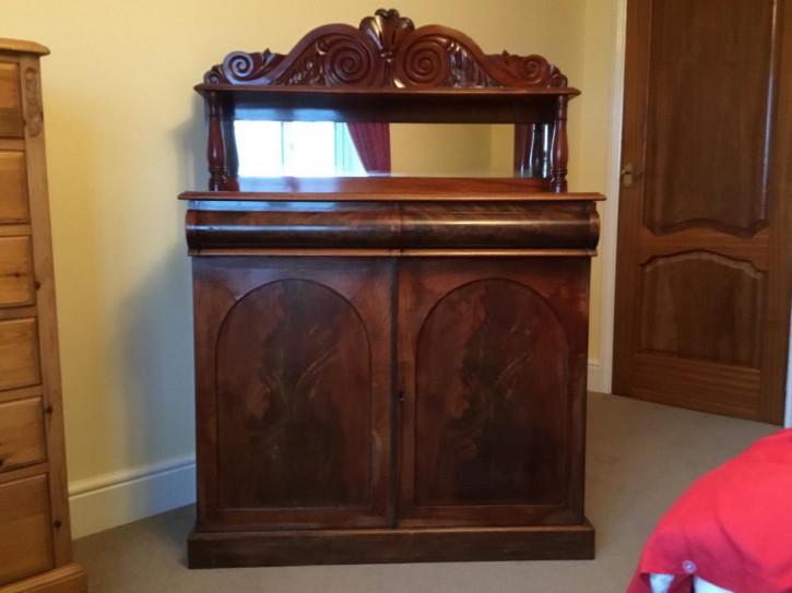Viktorianisches Mahagoni Sideboard antik britisch ca 1880