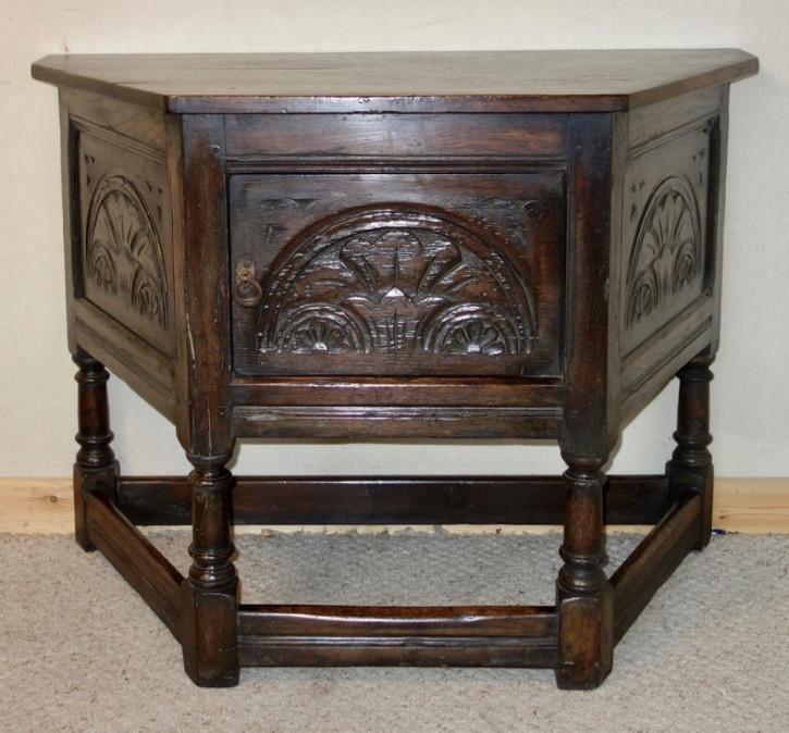 Antikes viktorianisches Eichen Sideboard britisch ca 1850