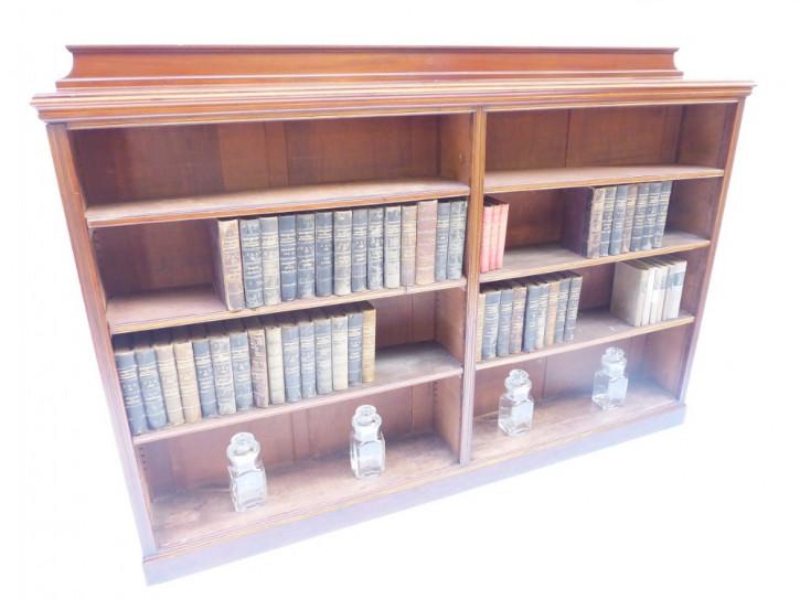 Antikes Mahagoni Bücherregal britisch ca 1880
