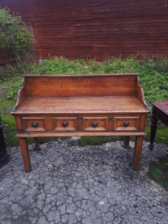 Antikes britisches Kiefern Sideboard Weichholz ca 1800