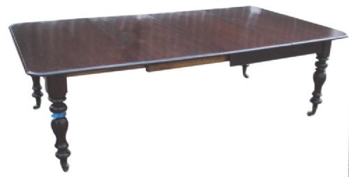 Viktorianischer Mahagoni Esstisch antik englisch ca 1880
