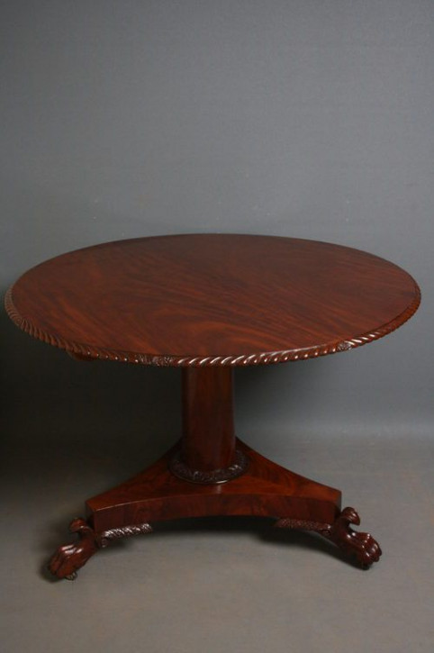 Viktorianischer antiker Mahagoni Esstisch britisch ca 1880