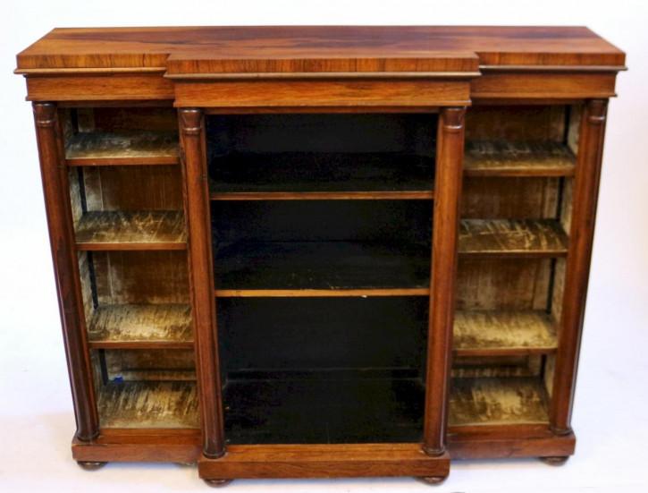 Antikes Palisander Bücherregal englisch 19. Jh