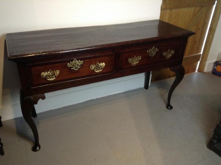 Antikes britisches Eichen Sideboard ca 1750