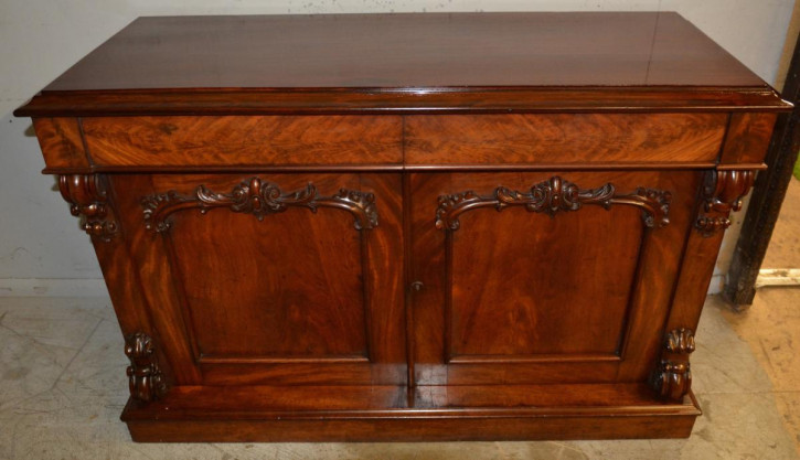 Viktorianisches Mahagoni Sideboard antik britisch ca 1870
