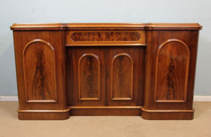 Antikes viktorianisches Mahagoni Sideboard englisch ca 1850