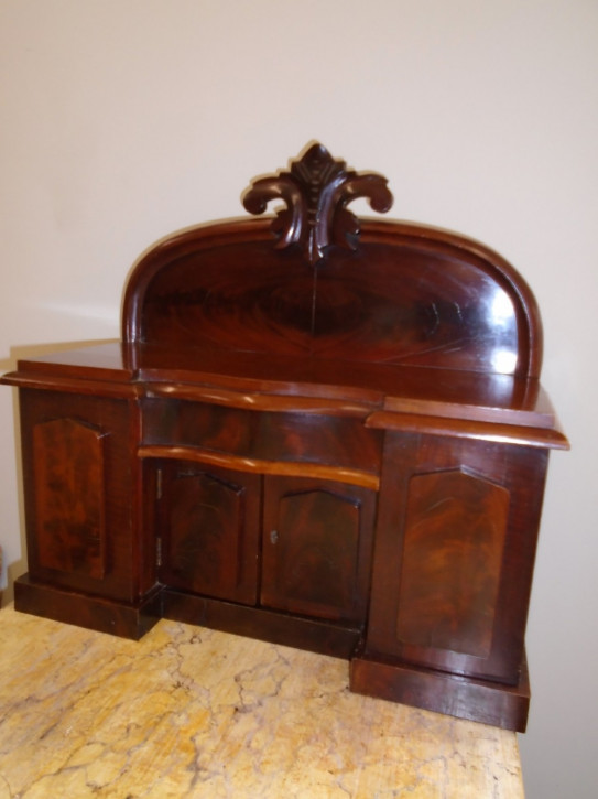 Viktorianisches antikes Sideboard Mahagoni englisch ca 1845