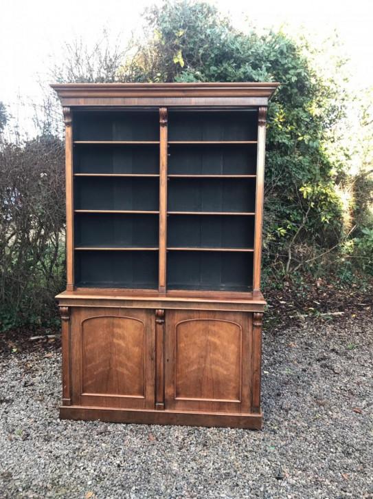 Viktorianischer Palisander Bücherschrank antik britisch ca 1880