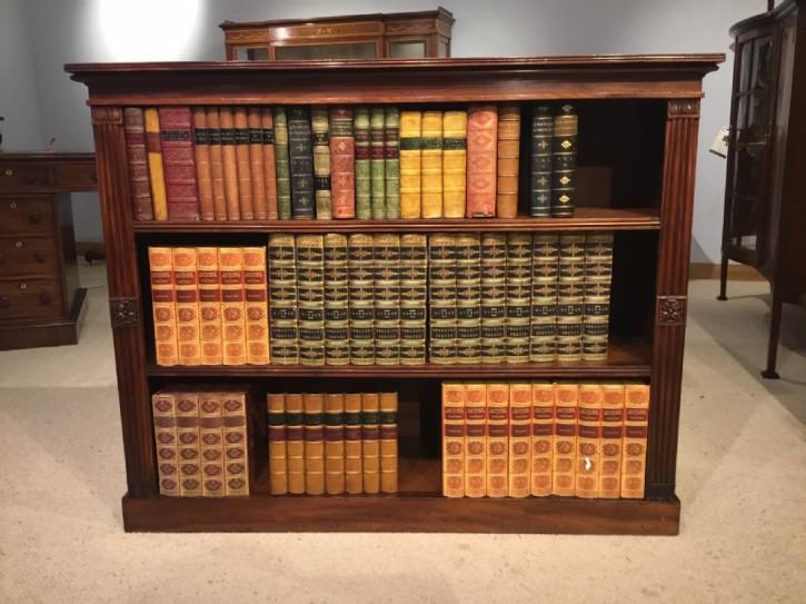 Antiker Regency Mahagoni Bücherschrank englisch ca 1820