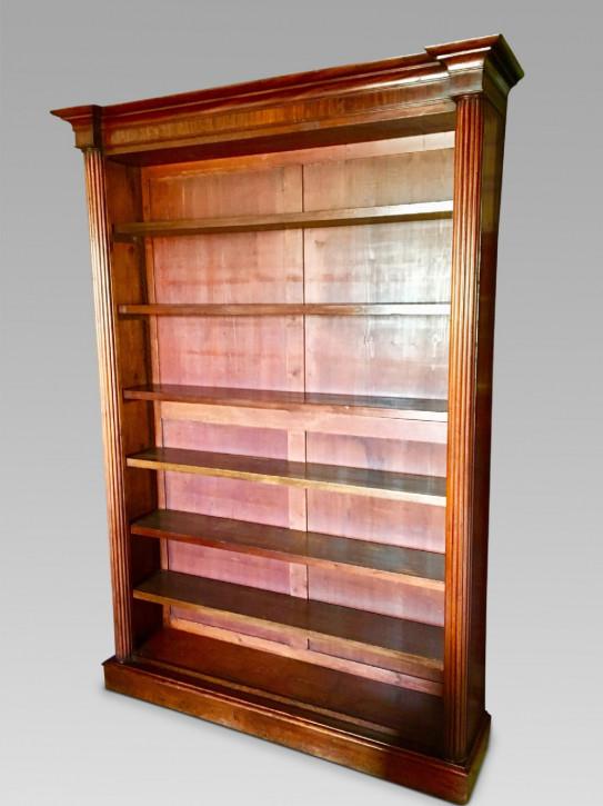 Antikes britisches Bücherregal Mahagoni ca 1850