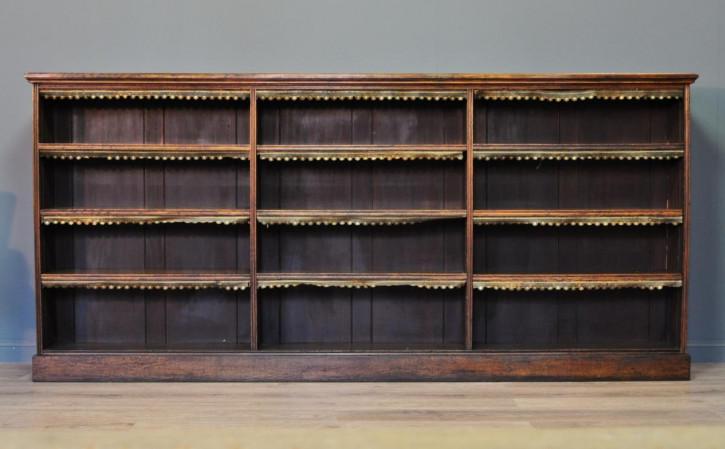 Viktorianischer antiker Eichen Bücherschrank englisch ca 1880
