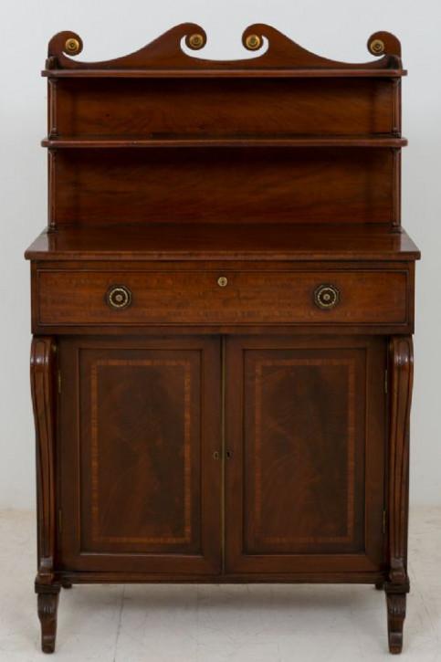 Antikes Regency Mahagoni Sideboard britisch ca 1800