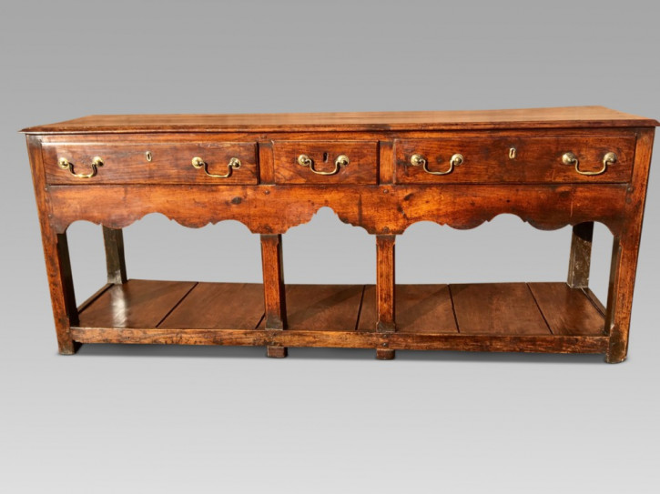 Georgianisches Eichen Sideboard britisch antik ca 1780