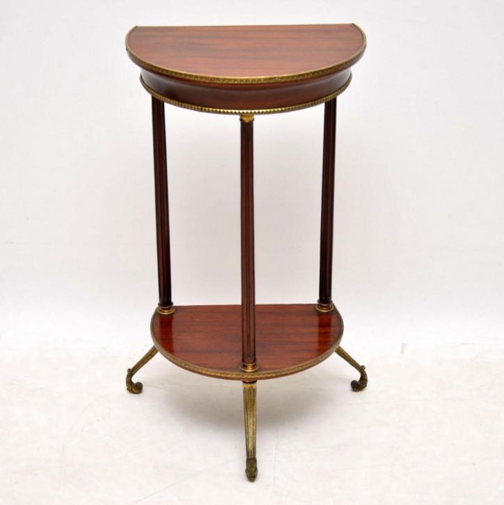 Antiker Mahagoni Beistelltisch englisch ca 1880