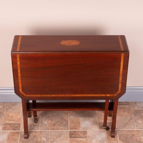 Antiker edwardianischer Mahagoni Tisch englisch ca 1890