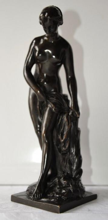 Französische antike Bronzefigur Statue ca 1880
