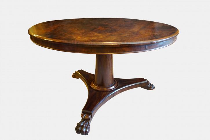 Antiker Palisander Sofatisch britisch Breakfast Table ca 1830