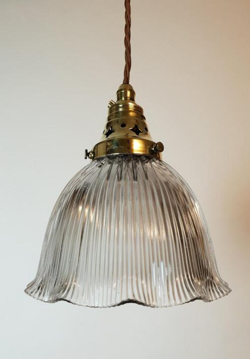 Antike Deckenlampe Messing Deckenleuchte Lampe britisch ca 1890