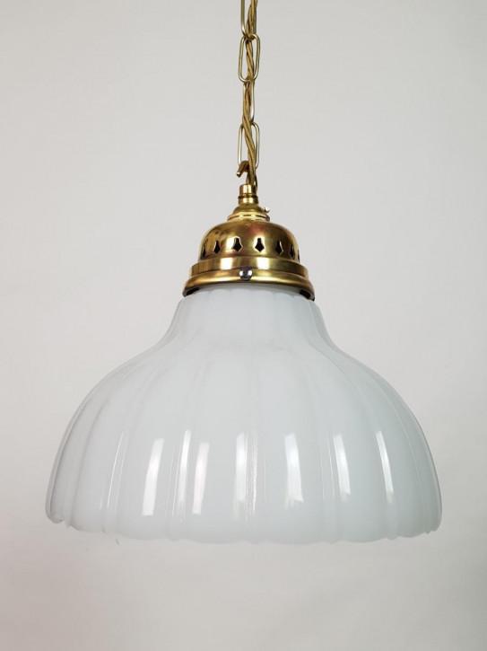 Edwardianische antike Deckenleuchte Messing Deckenlampe britisch ca 1890