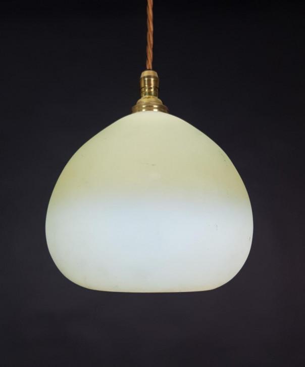 Antike britische Deckenleuchte Deckenlampe Messing ca 1920
