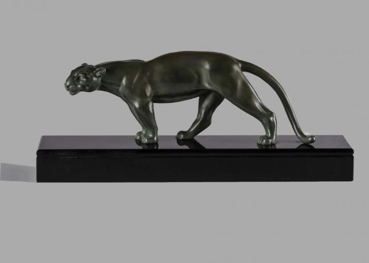 Französische Art Deco Skulptur Bronzefigur antik ca 1930