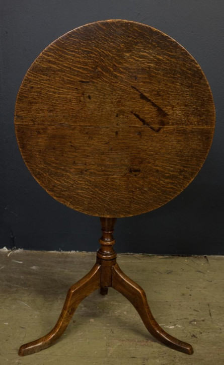 Georgianischer antiker Eichen Esstisch britisch ca 1780