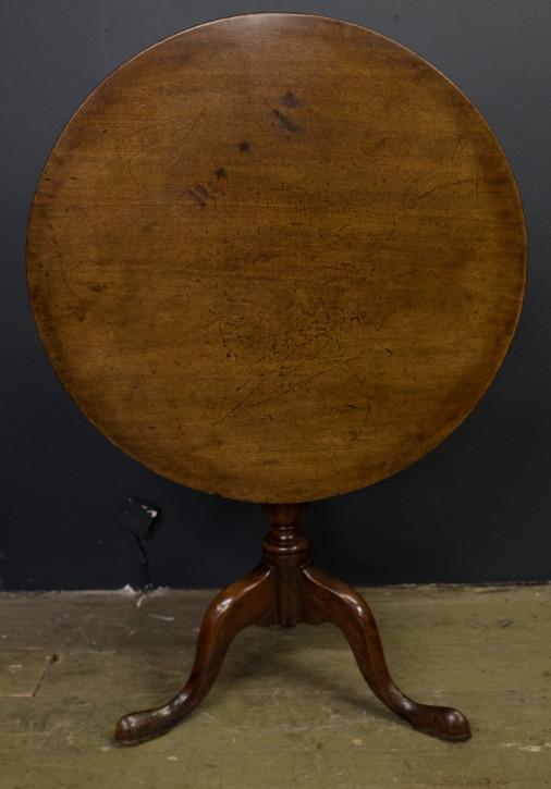 Georgianischer antiker Massivholz Esstisch britisch ca 1750