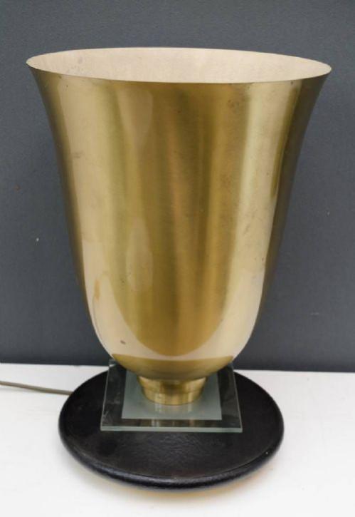 Antike Art Deco Tischlampe britisch ca 1920-30