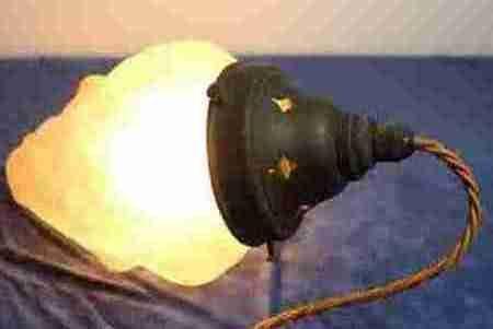 Art Deco Hängelampe Deckenlampe britisch antik ca 1930