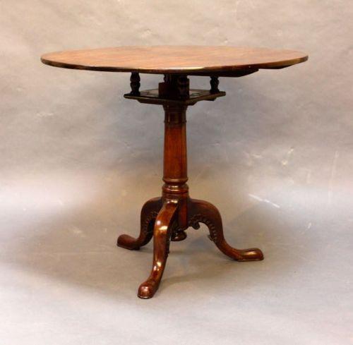 Antiker britischer Mahagoni Tisch ca 18. Jh