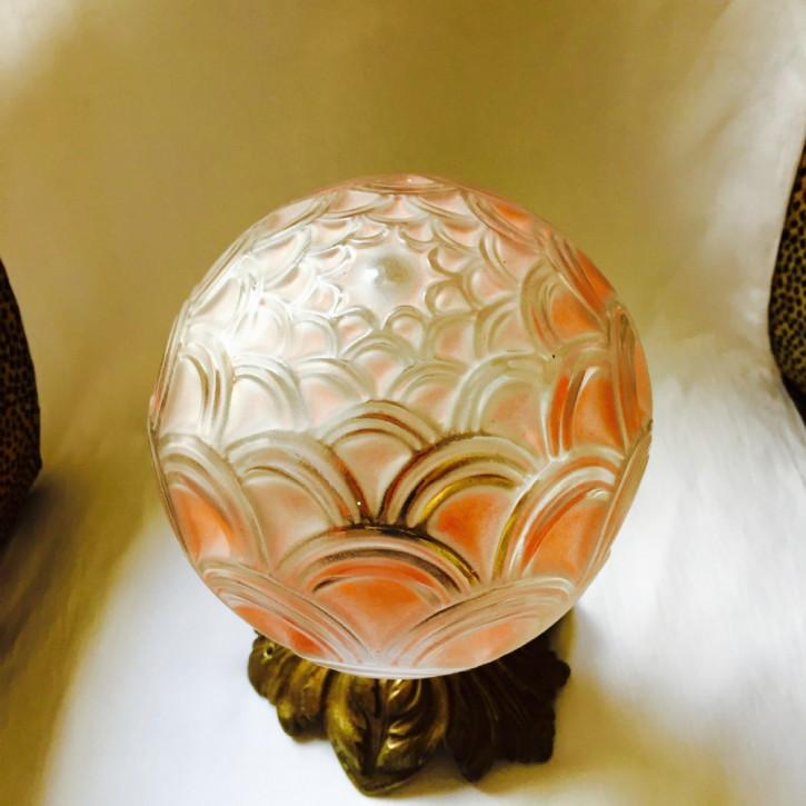 Antiker britischer Art Deco Tischlampe Bronze Deckenlampe ca 1930