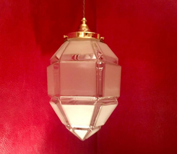 Antike britische Art Deco Deckenlampe Hängelampe ca 1930