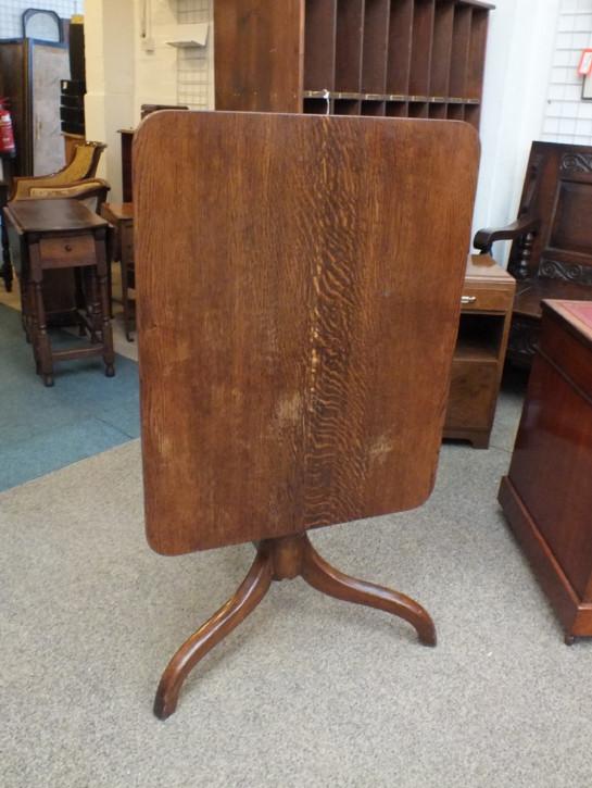 Antiker georgianischer Tisch Eiche britisch ca 1810